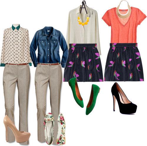 Combinaciones de ropa para oficina mujer imagui - Ropa interior combinaciones ...