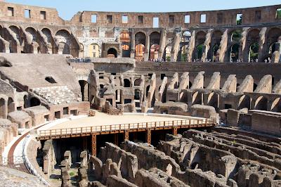 The Colosseum interior