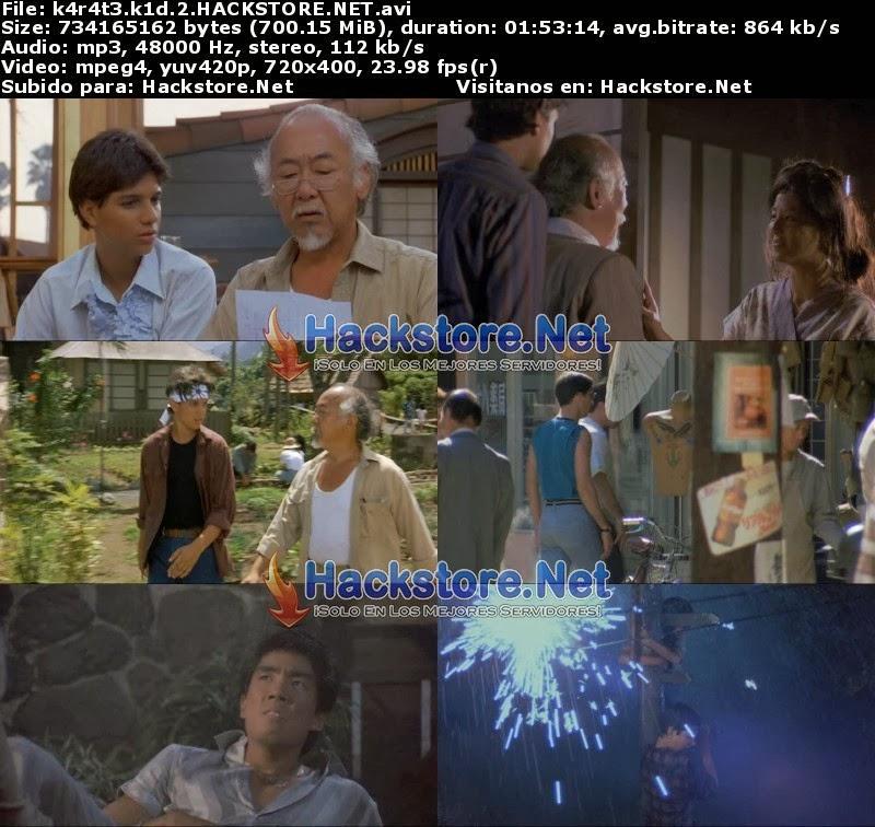 Captura Karate Kid 2 (1986) DVDRip Latino