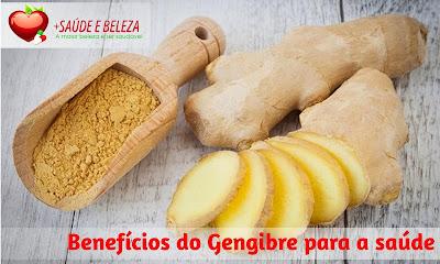 Gengibre - Mais Saúde e Beleza