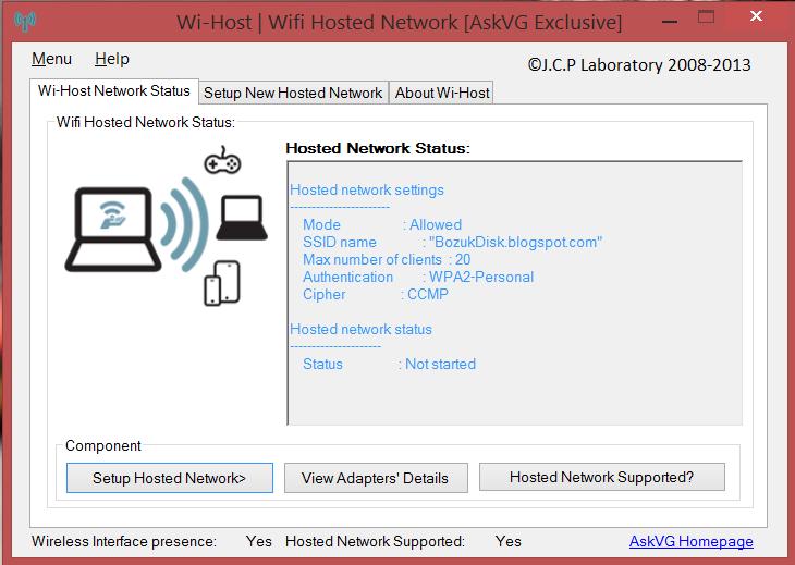 Wi-Host Kullanımı Görsel 0