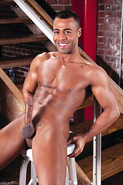 image of black hung dick