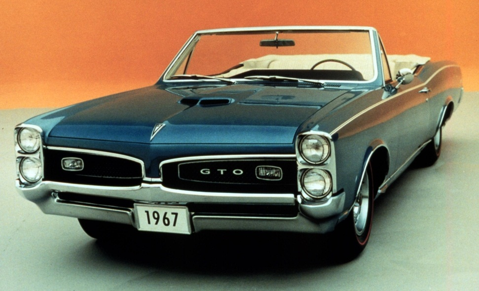 pontiac gto as the legendary and classic muscle car