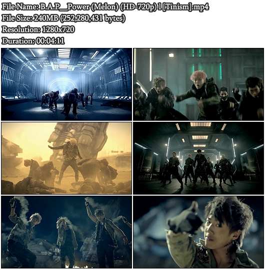 MV B.A.P (비에이피) - Power (Melon HD 720p)