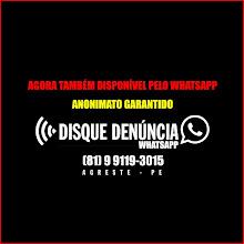 Whatsapp do Disque Denúncia
