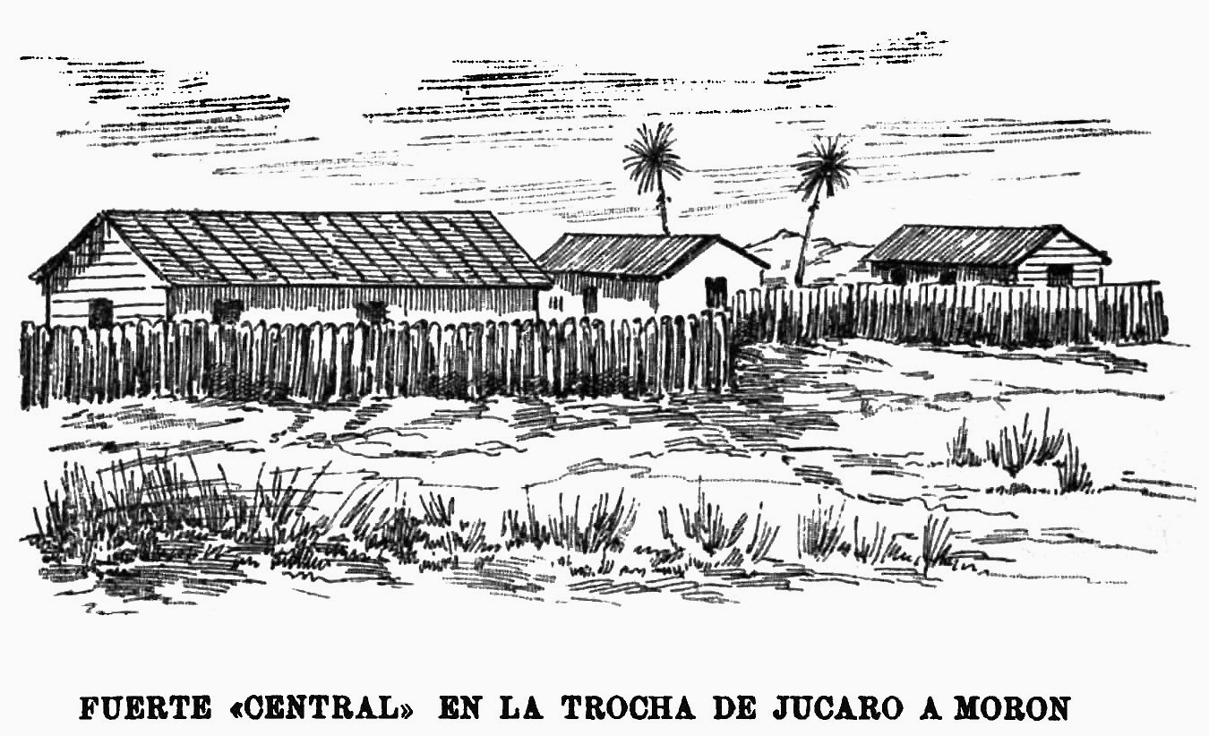 Servía de acuartelamiento español