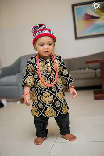 Obi Jason Njoku, Iroko TV Boss's son turns 1 + cute photos