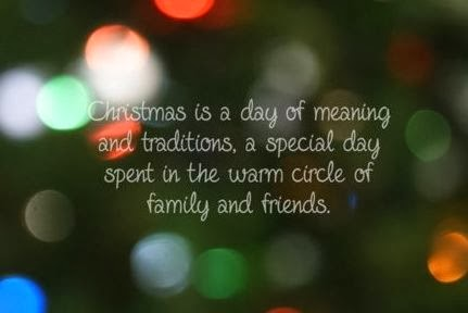 Meaning Christmas Quotes For Family 2013