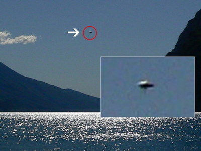Clear Disc UFO Caught On Camera Over Italy, UFO Sightings