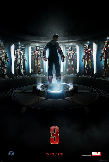 Iron Man 3 2013 Movie Poster