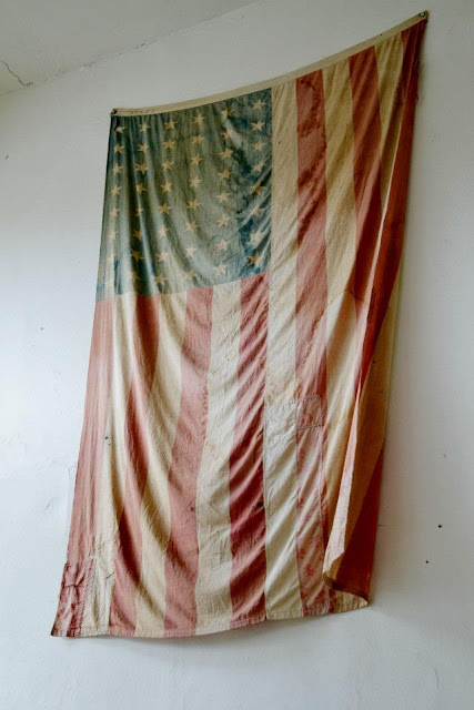 flag, stars and stripes, fourth of july, seattle, oddfellows