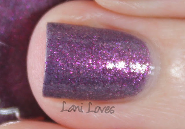 Femme Fatale Cosmetics Her Imperial Majesty nail polish swatches & review