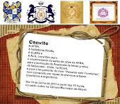 Dia 10 de junho, Laureação como Delegada da Academia de Val Paraíso, e a Comenda da AFBA.