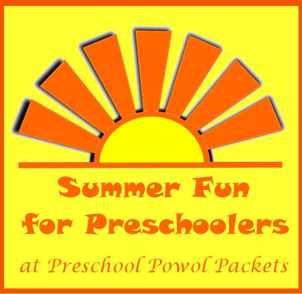 Summer Fun For Preschoolers Chalk Color Wheel Preschool Powol Packets