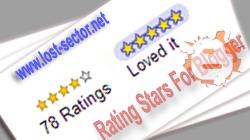 Memasang Fitur Blogger Rating Stars Pada Postingan Blog