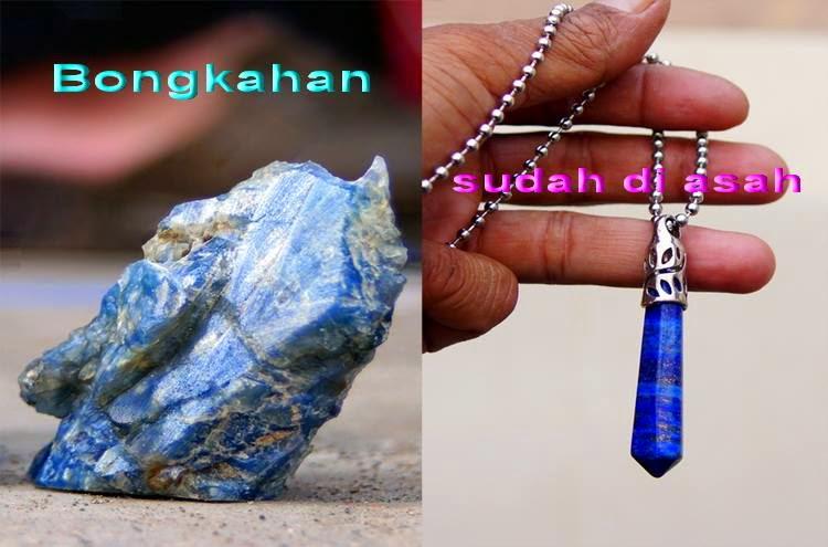 Unik dan Langkanya Batu akik Lapis Lazuli