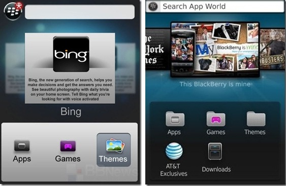 New BlackBerry App World 3.0 Screenshots leaked