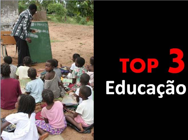Top 3 - Educação