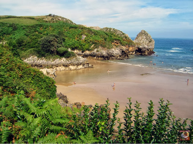 Playa de Berellín ó Barnejo, Prellezo, Val de San Vicente, Cantabria
