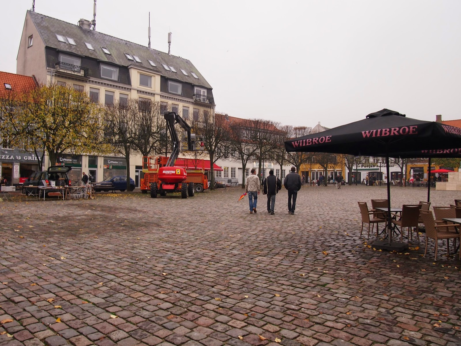 a town square in denmark
