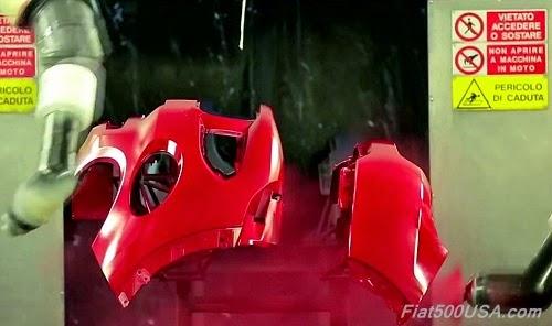 Fiat 500X Fascia Painting