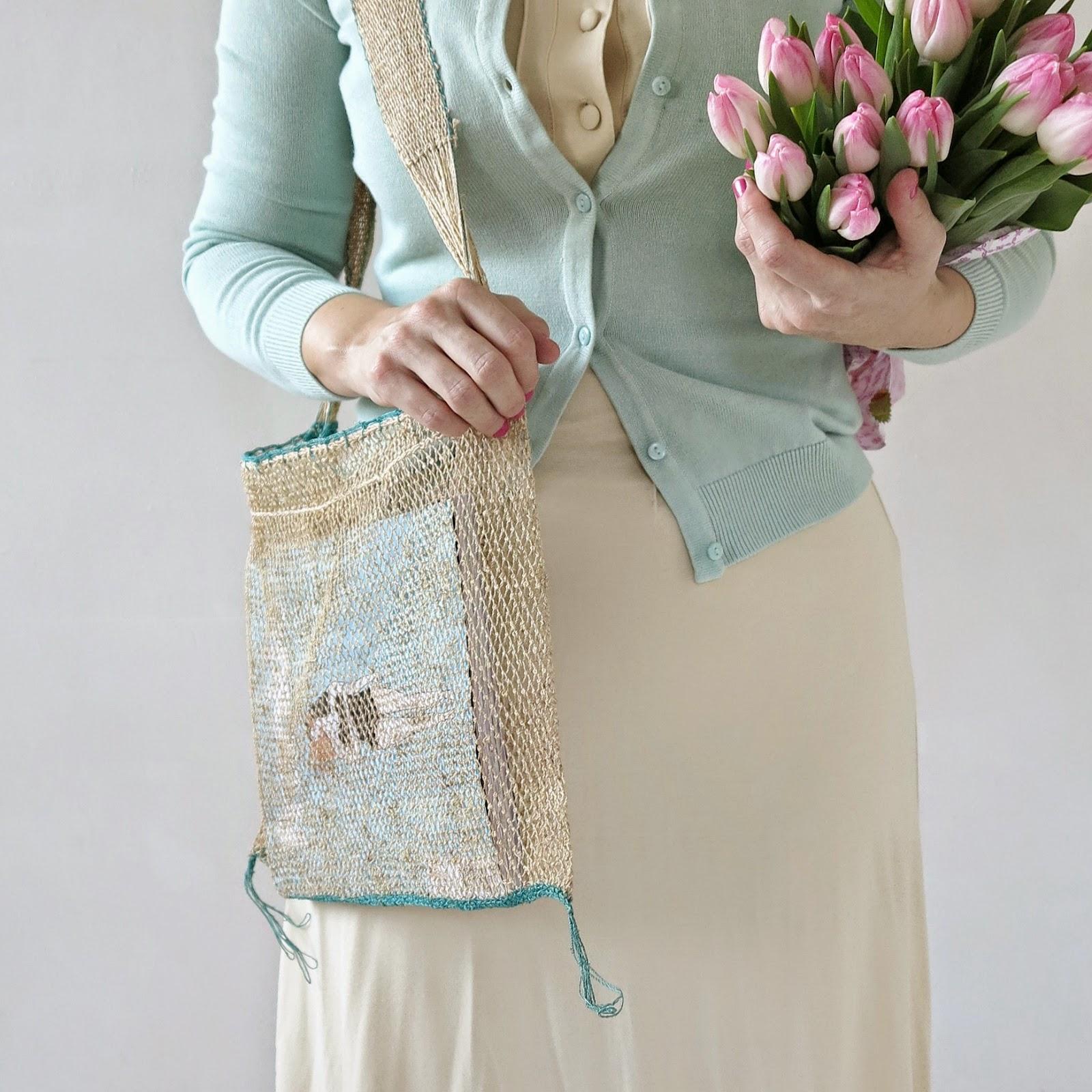ByHaafner, Nature Bag, kudzu, JungleVine, tulips