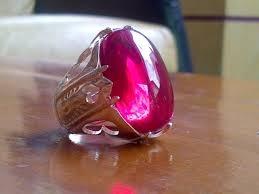 Batu akik bertuah merah delima
