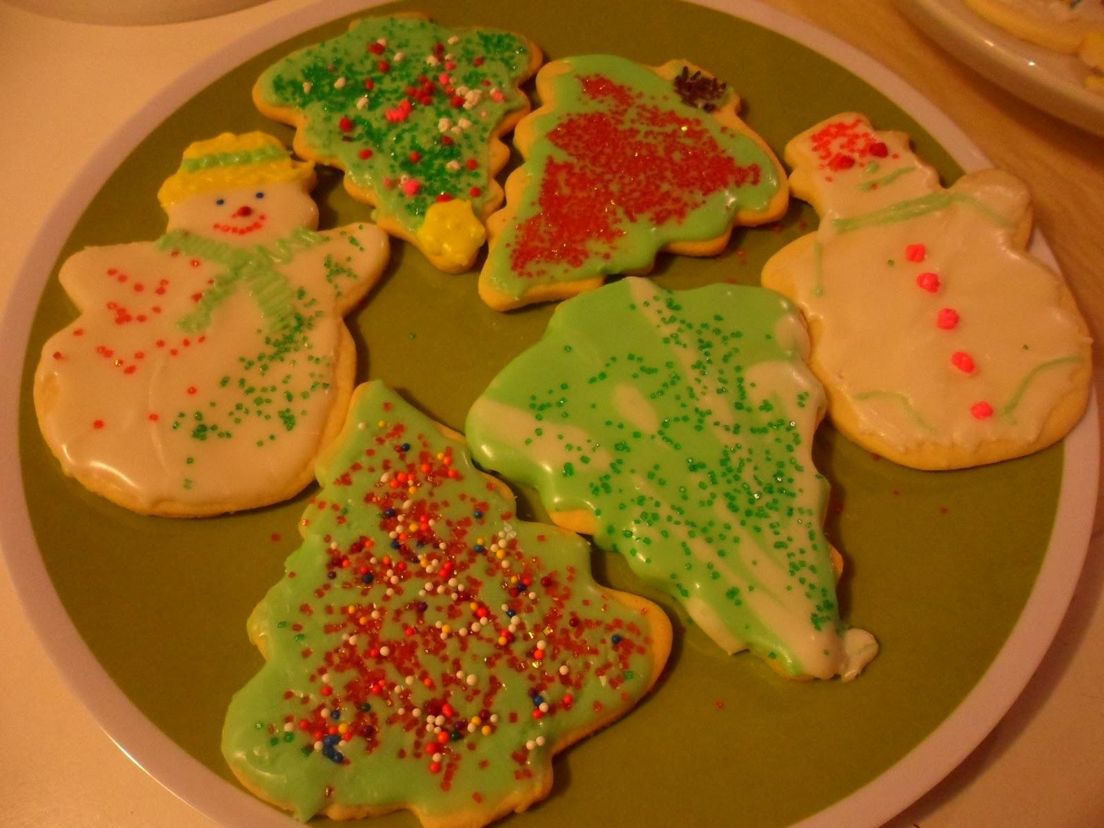 julkakor med glasyr