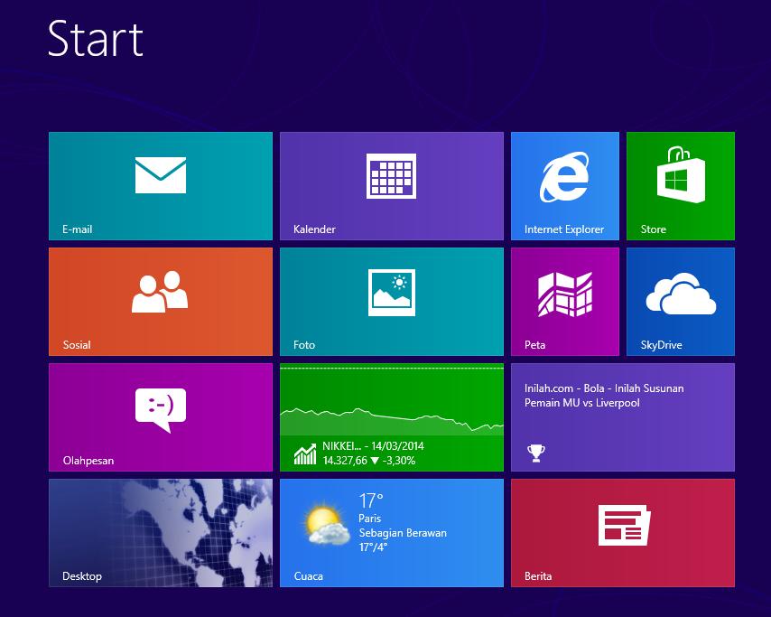 Aktivasi Windows 8 dengan Lisensi Key Number
