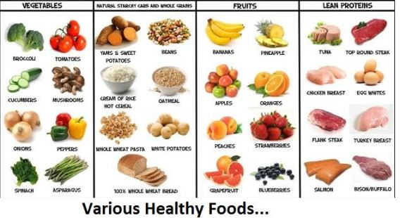 know I told you to stay away from starchy food and sugar. Let me add ...