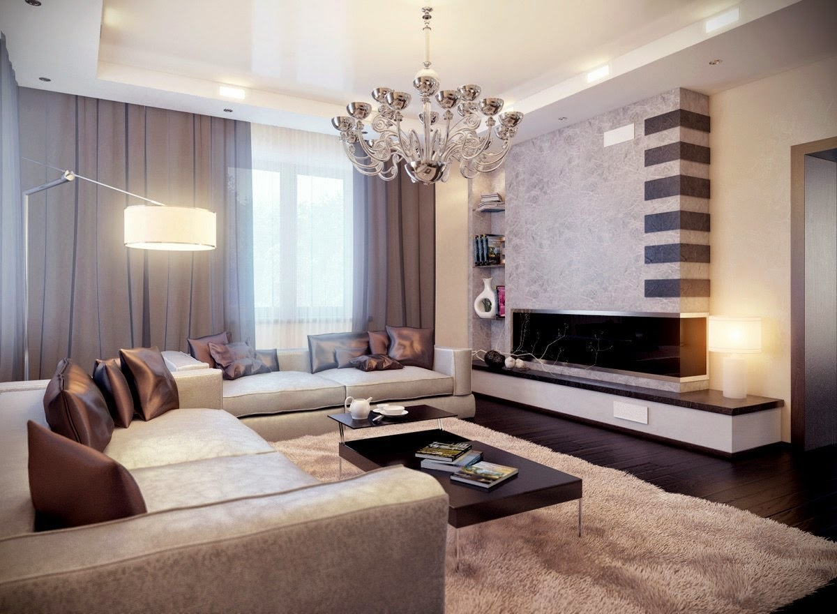Model of Crystal Decorative Lighting for Luxury Living Room