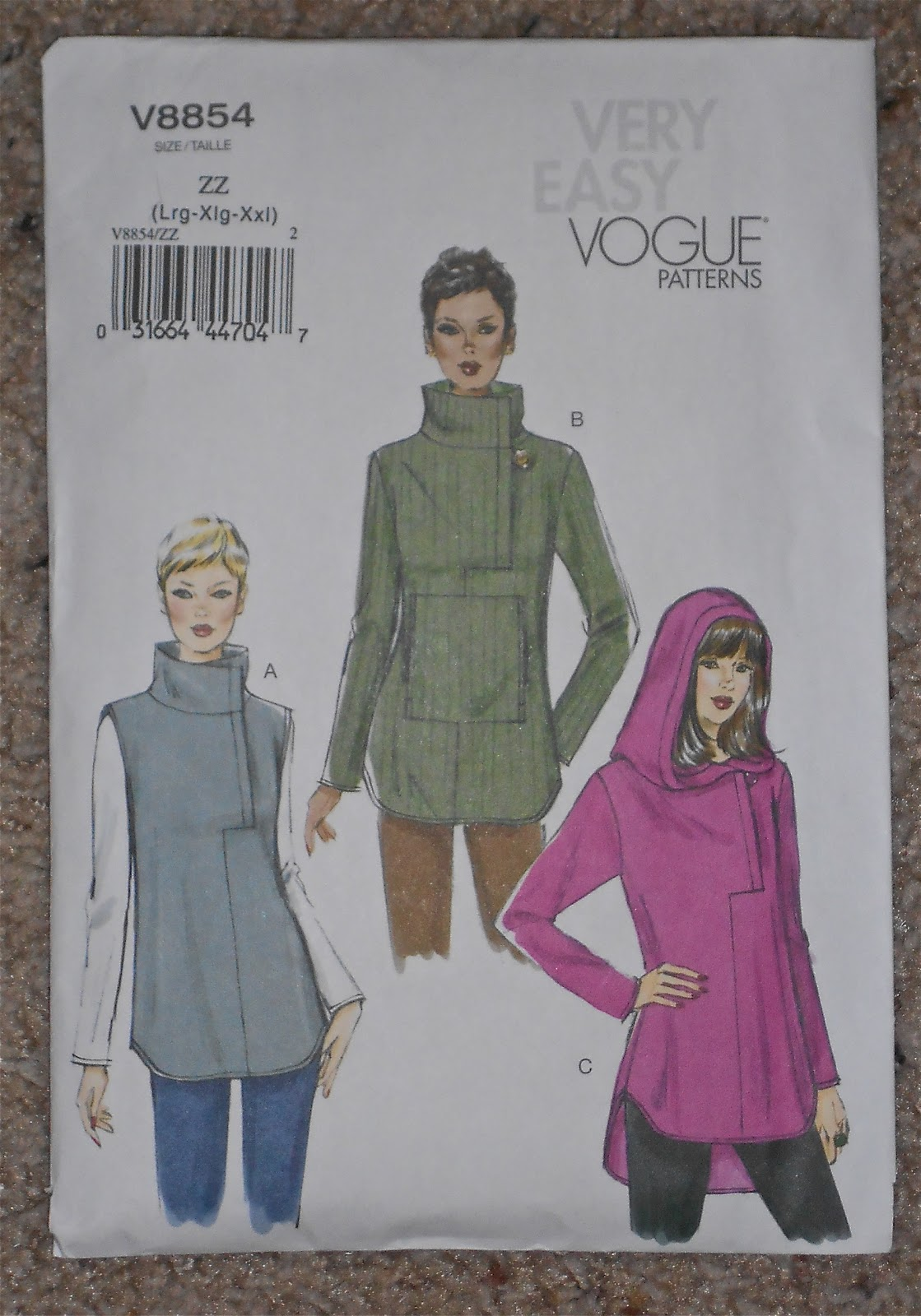 Sew Forth and Conquer: Vogue 8854