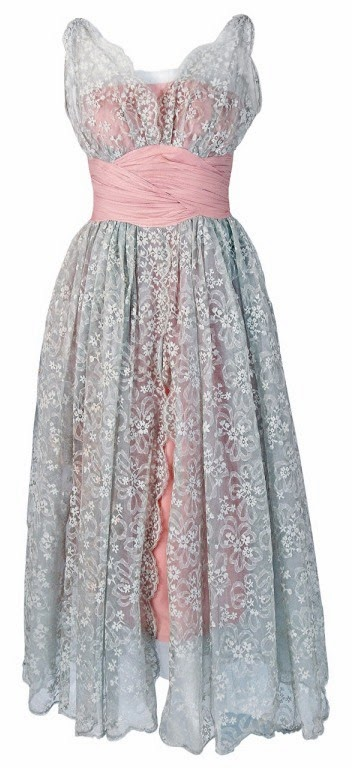 blog.oanasinga.com-personal-blog-things-that-i-like-jeanne-lanvin-castillo-pink-silk-chiffon-and-gray-floral-lace-party-dress-1956