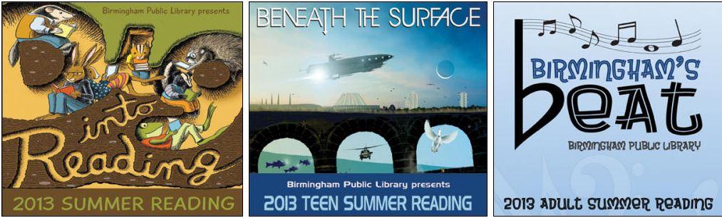 summer reading logos
