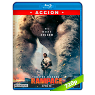Rampage: Devastación (2018) BRRip 720p Audio Dual Latino-Ingles