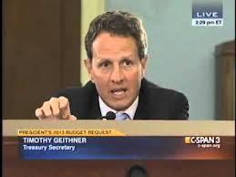 Tim Geithner to Paul Ryan