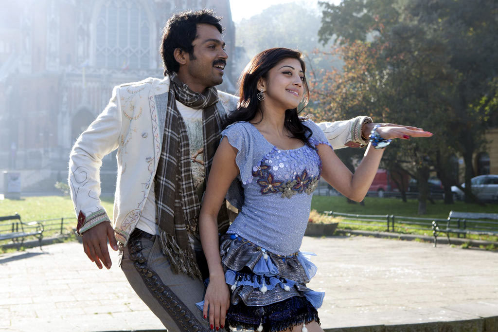 Karthi's Saguni Latest Stills