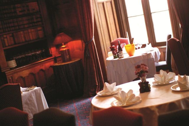 Library And Print Room Restaurant at Matfen Hall | Matfen Hall Hotel, Newcastle Upon Tyne NE20 0RH | +44 1661 886500