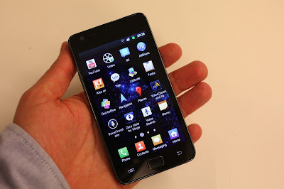 samsung galaxy S II hands on 