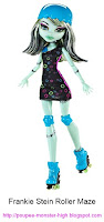 Poupée Monster High Frankie Roller Maze