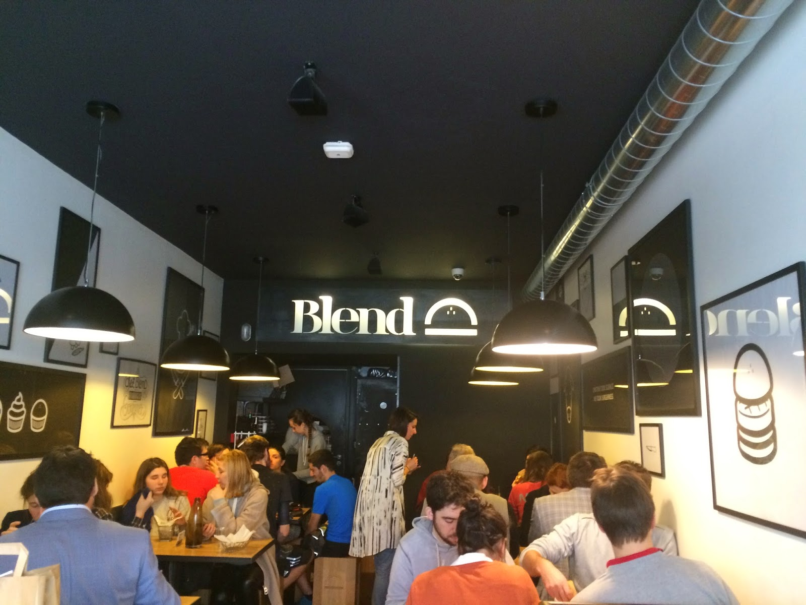 Interior of Blend, rue d'Argout, Paris