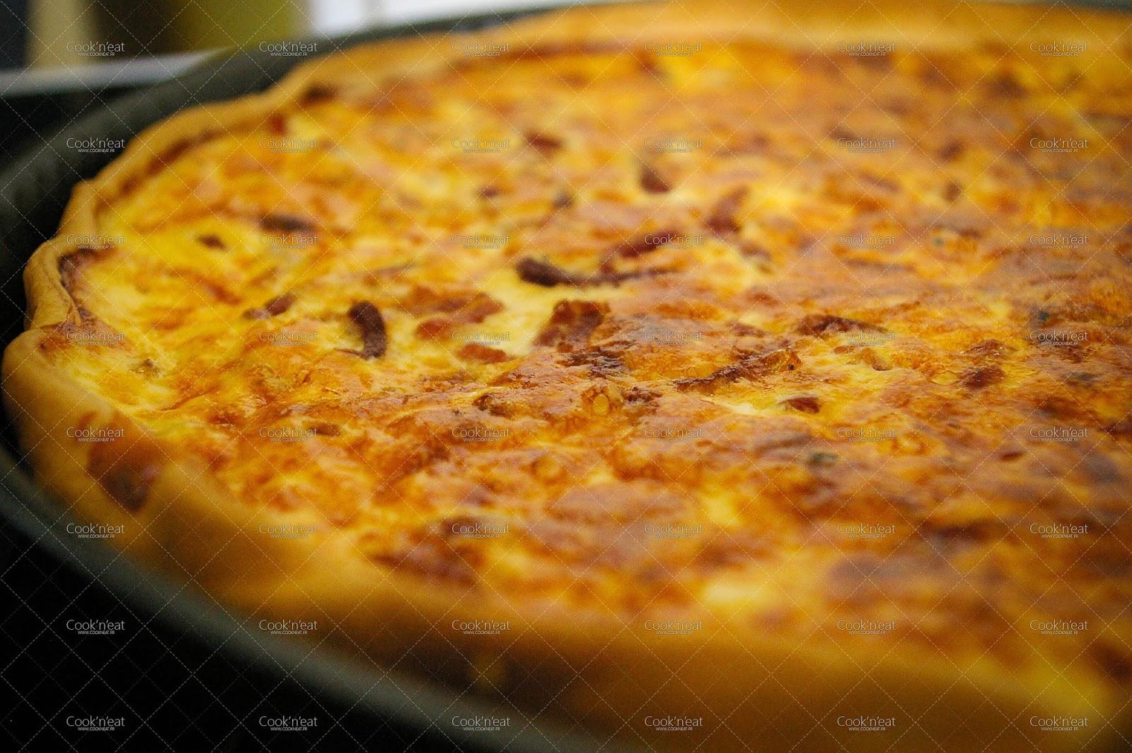 Quiche lorraine all g e blogs de cuisine for Cuisine quiche lorraine