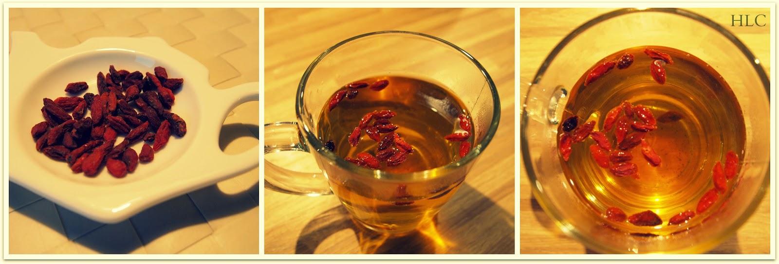 jagody goji do herbaty