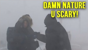 Damn Nature, U Scary!