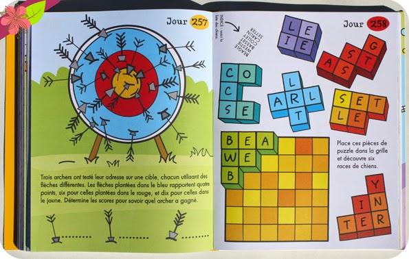 Un jeu par jour - éditions Usborne