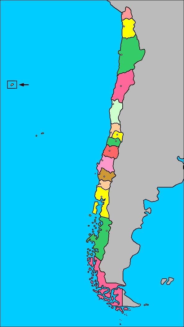 División politica de Chile