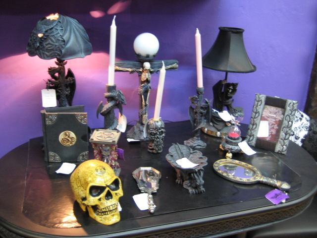 Goth Rooms stripy tights and dark delights: guest post: goth decor