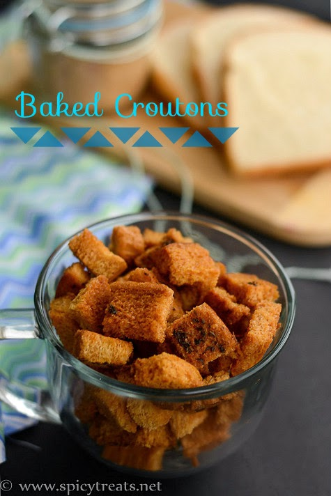 Baked Croutons