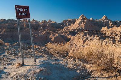 Badlands National Park: Door Trail
