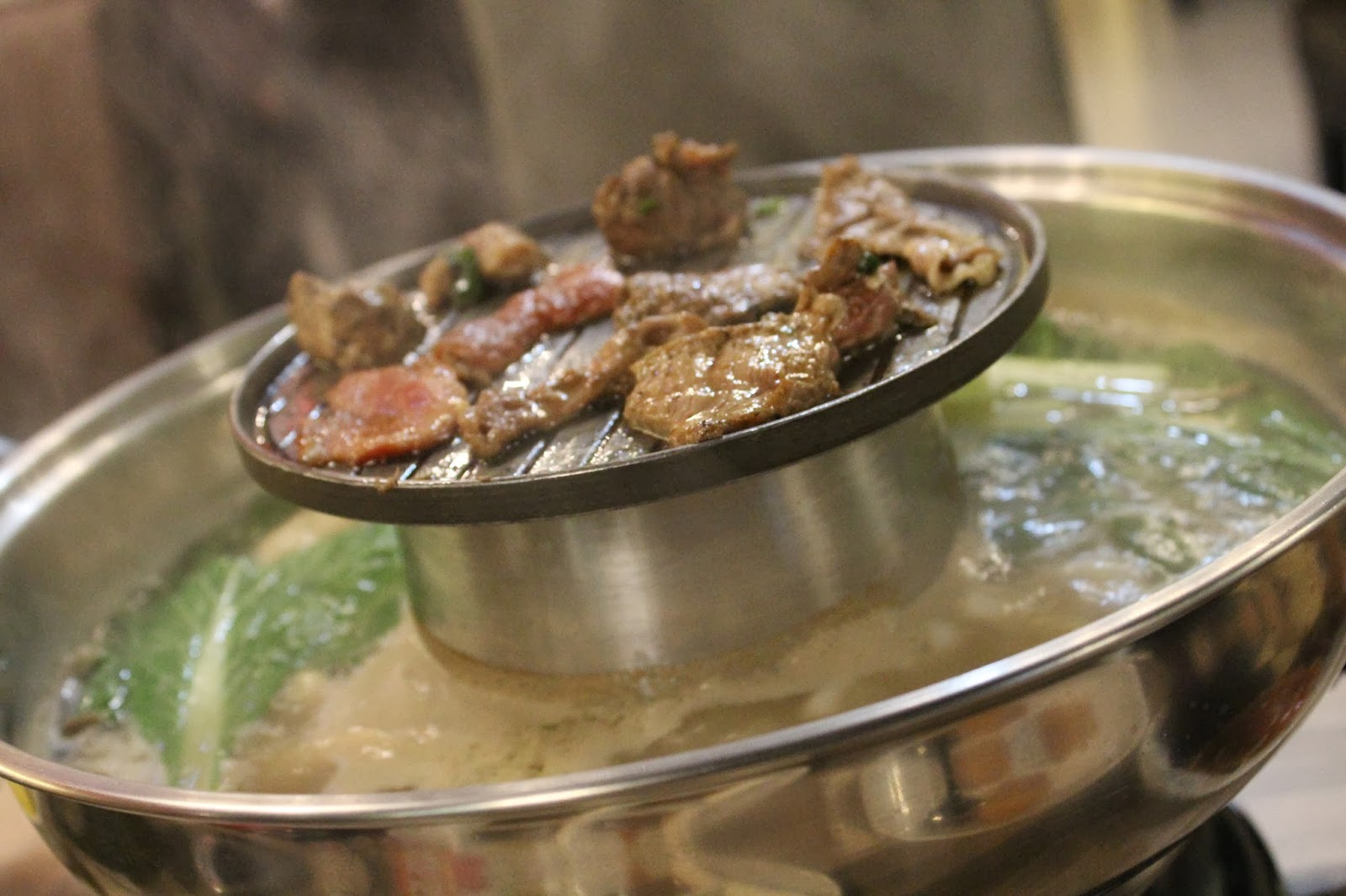 food grill and steamboat